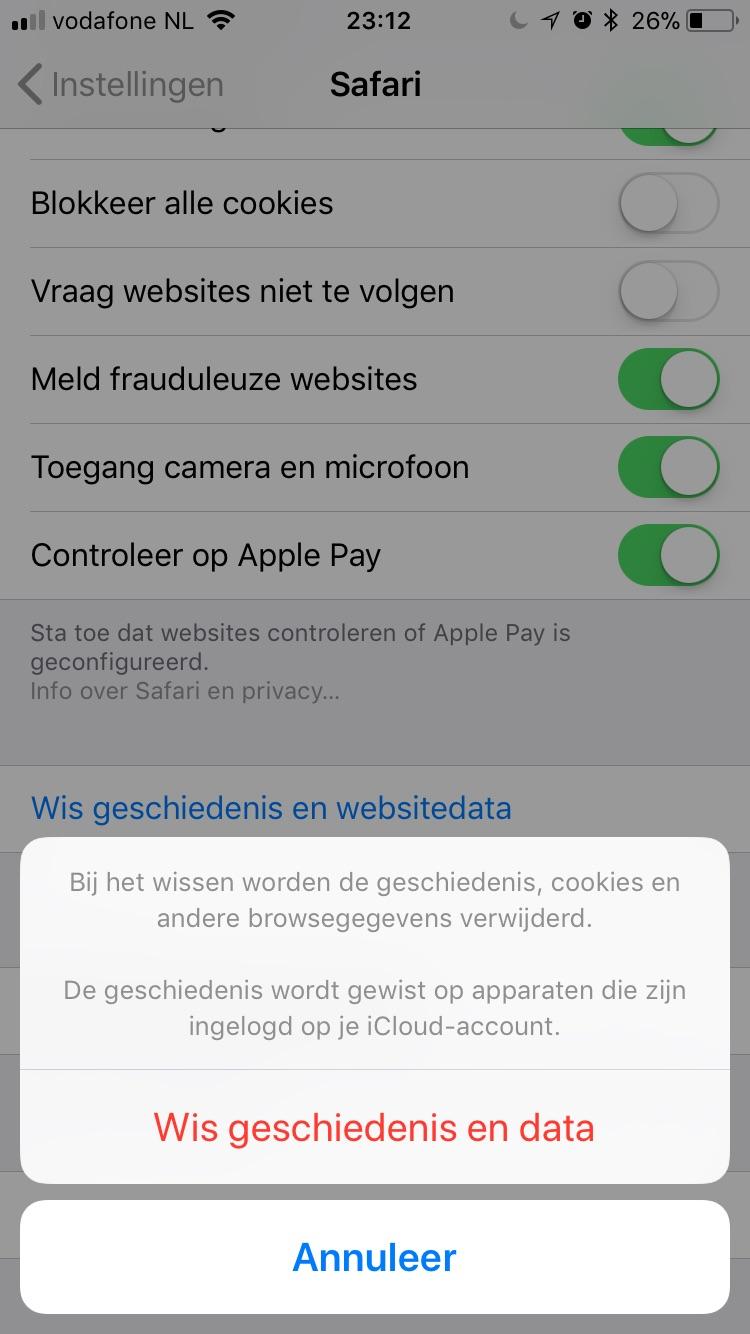 36d4878ba359b8 Cookies verwijderen(aan-/uitzetten) in Edge,Chrome,Safari,Firefox ...