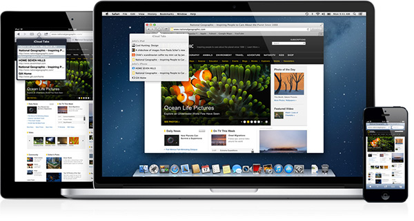 Safari browser voor MAC, iPAd en iPhone